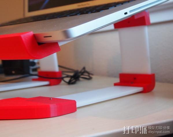 梯形电脑支架 3D模型  图8