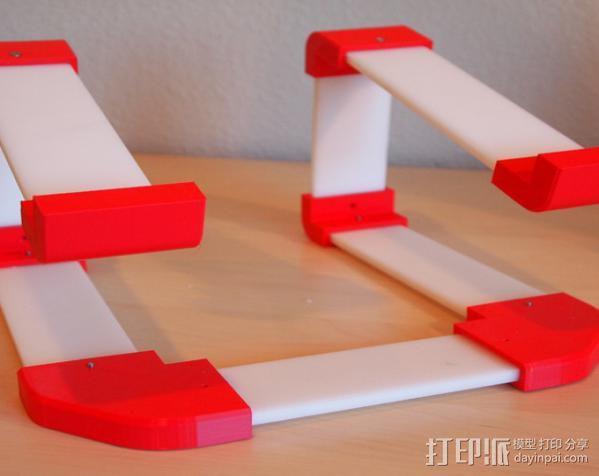 梯形电脑支架 3D模型  图6