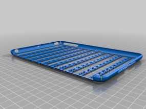 iPad Mini 平板电脑保护罩 3D模型