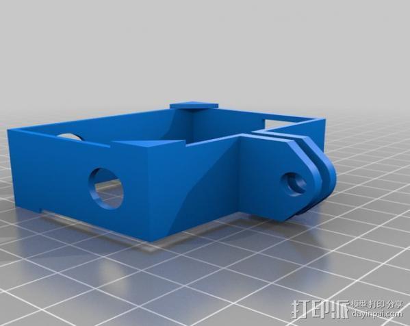 GoPro Hero3相机外框支架 3D模型  图1