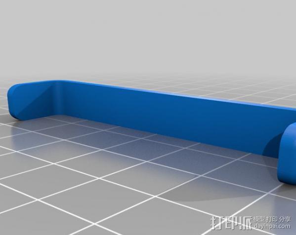 手机/平板电脑支架 3D模型  图3