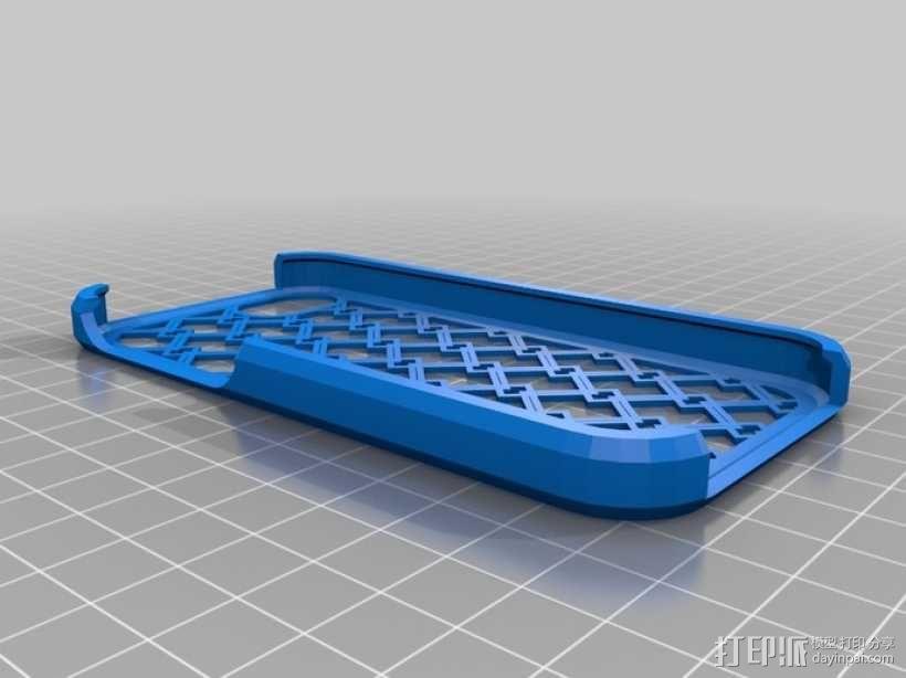 网格iPhone5手机外壳 3D模型  图1