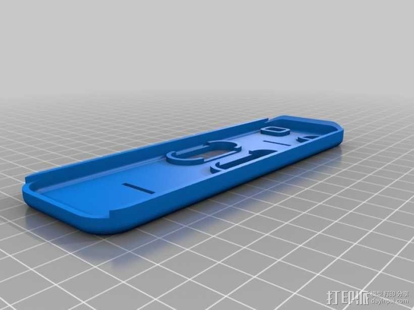 电视遥控器适配器 3D模型  图2