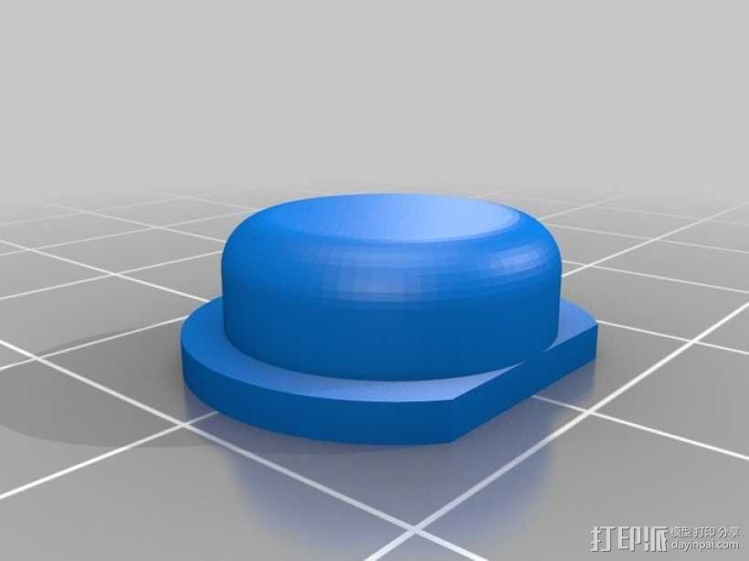 电视遥控器适配器 3D模型  图5
