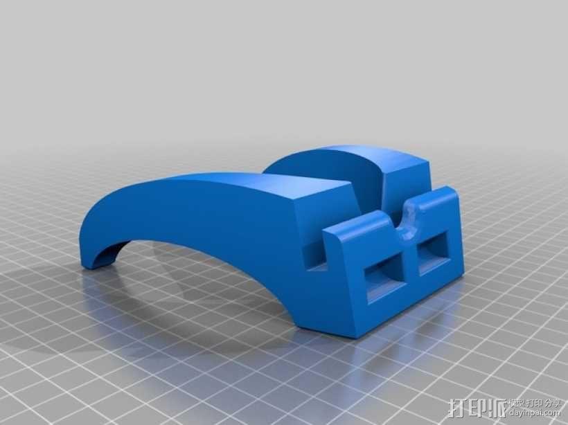 iPad mini平板电脑支架 3D模型  图1