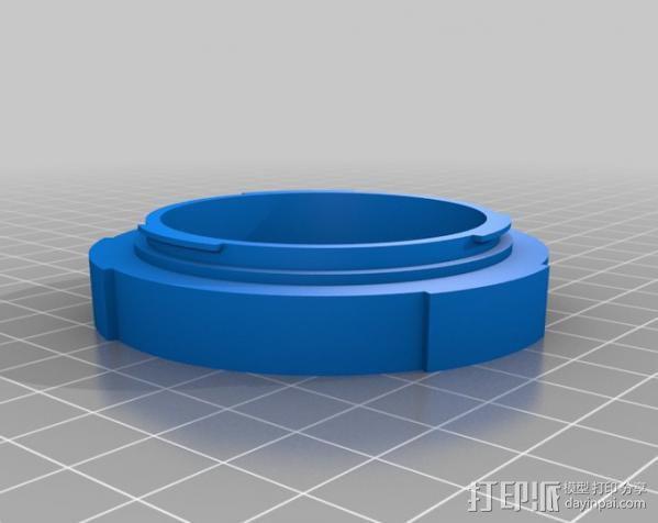 EOS-相机镜头适配器 3D模型  图4