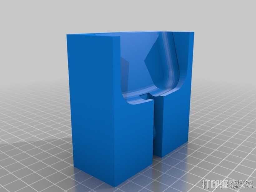 三星Galaxy S3 手机充电座 3D模型  图1