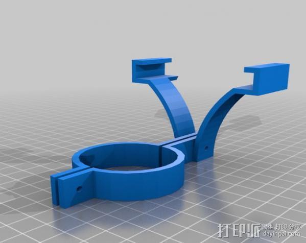 手机拍摄支架 3D模型  图5