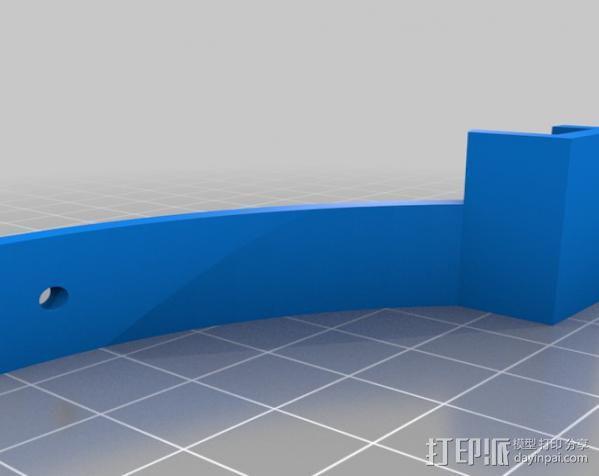 手机拍摄支架 3D模型  图3