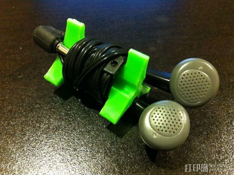 耳机收纳器 3D模型  图2