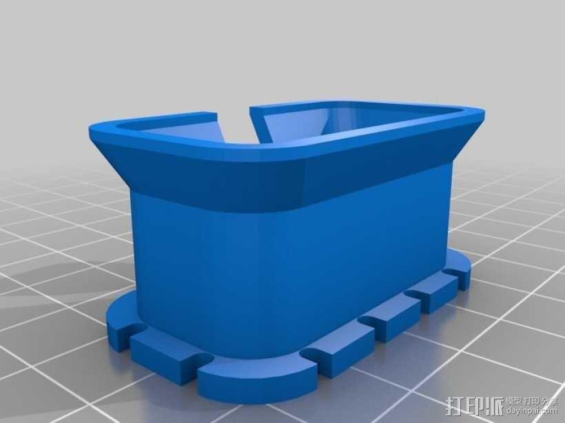 耳机收纳盒 3D模型  图7