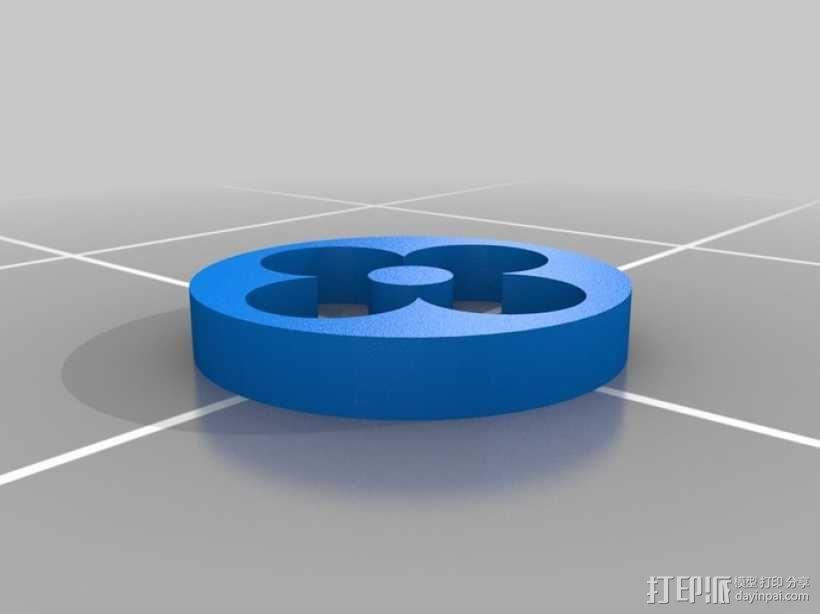 漂亮的iPhone4手机套 3D模型  图1