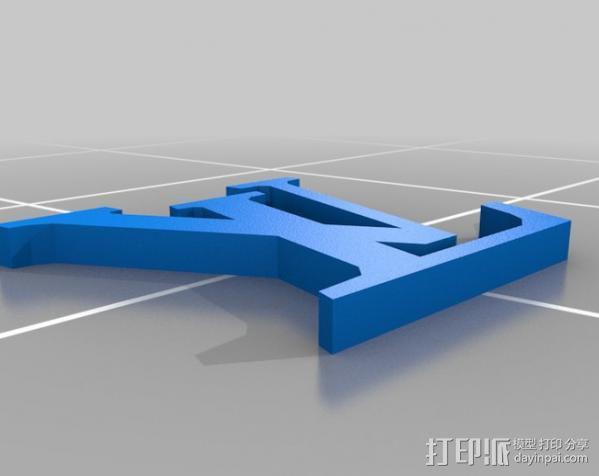 漂亮的iPhone4手机套 3D模型  图3