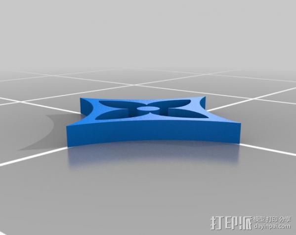 漂亮的iPhone4手机套 3D模型  图2