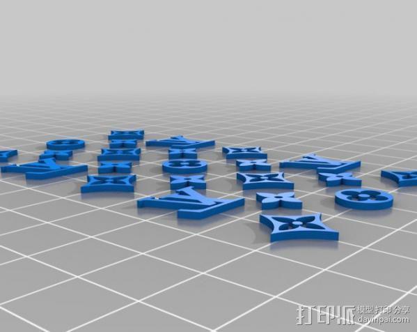 漂亮的iPhone4手机套 3D模型  图6