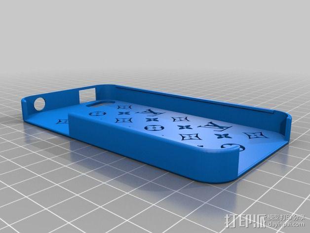 漂亮的iPhone4手机套 3D模型  图7
