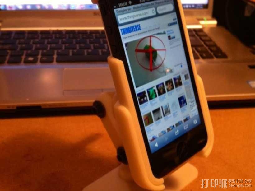 iPhone5 手机套 手机座  3D模型  图1
