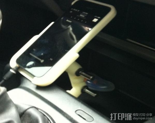 iPhone5 手机套 手机座  3D模型  图4