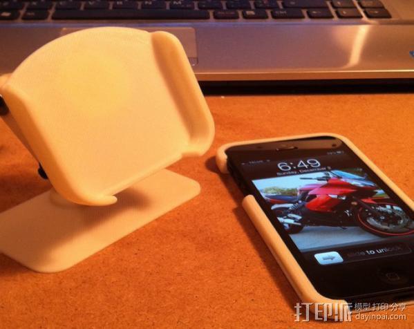 iPhone5 手机套 手机座  3D模型  图5