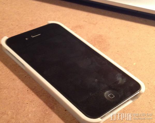 蝎子图案 iPhone4手机保护套 3D模型  图3
