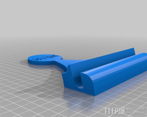 Ipad 平板电脑支架 3D模型  图1