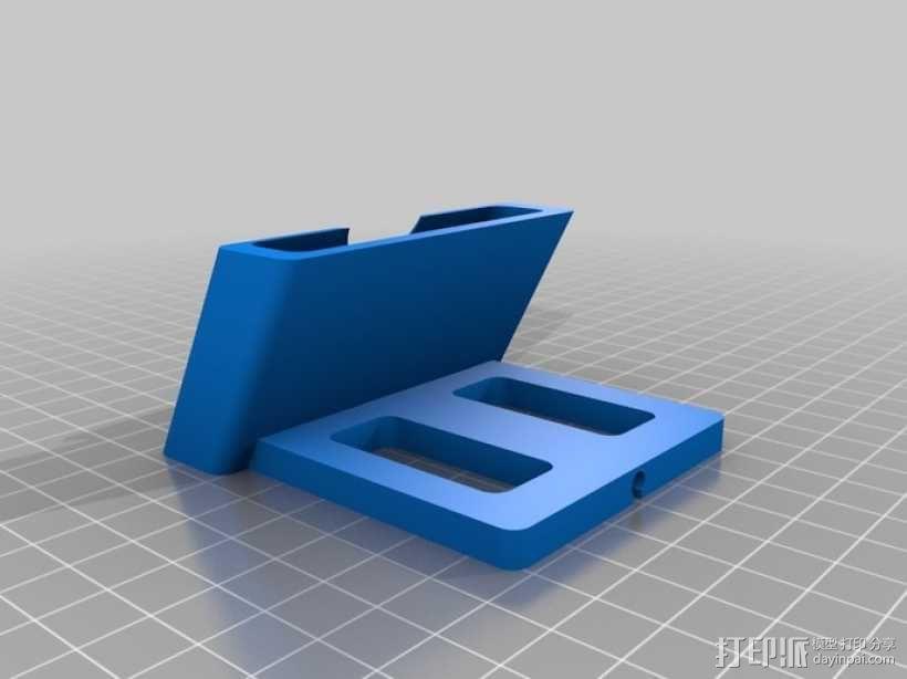 iPhone 5手机充电座 3D模型  图1