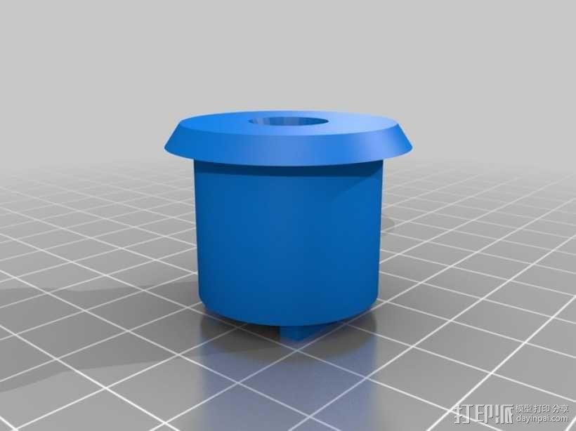 三脚架连接头 连接器 3D模型  图3