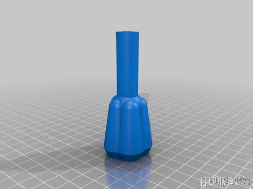 三脚架连接头 连接器 3D模型  图5