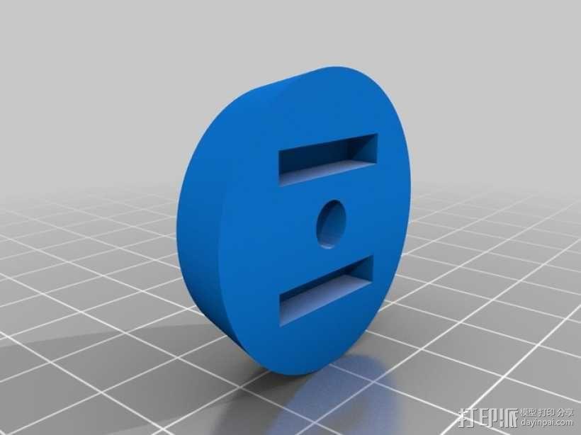 三脚架连接头 连接器 3D模型  图7