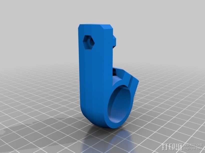 三脚架连接头 连接器 3D模型  图6