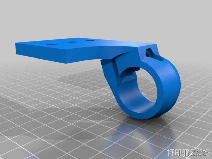 三脚架连接头 连接器 3D模型  图8