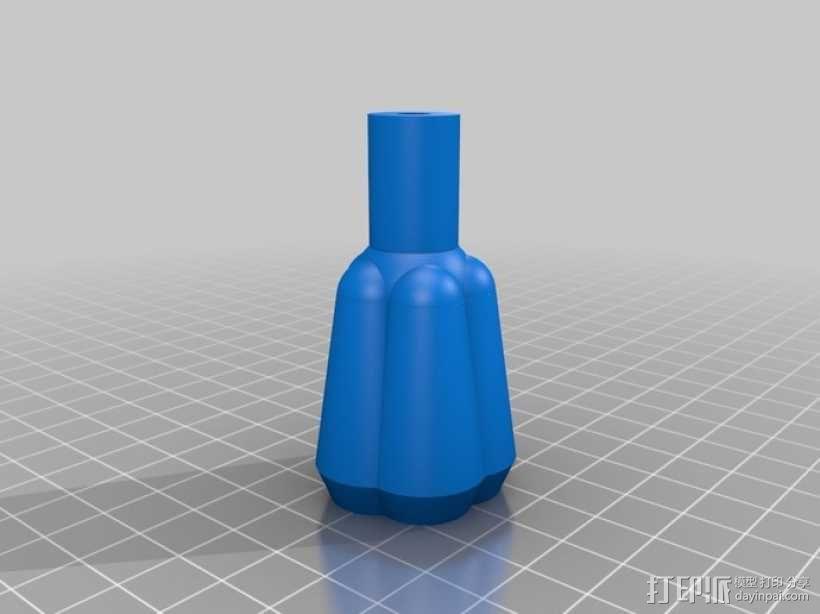 三脚架连接头 连接器 3D模型  图16
