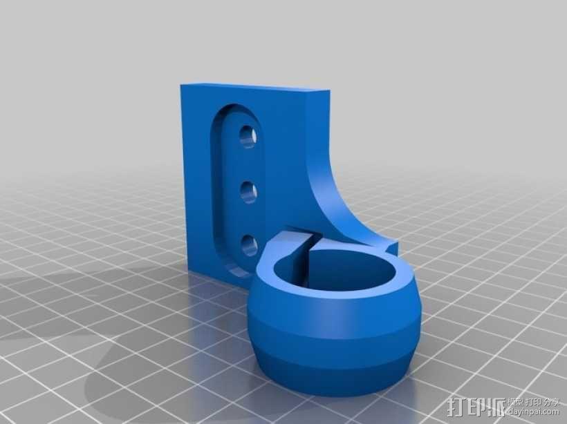 三脚架连接头 连接器 3D模型  图18
