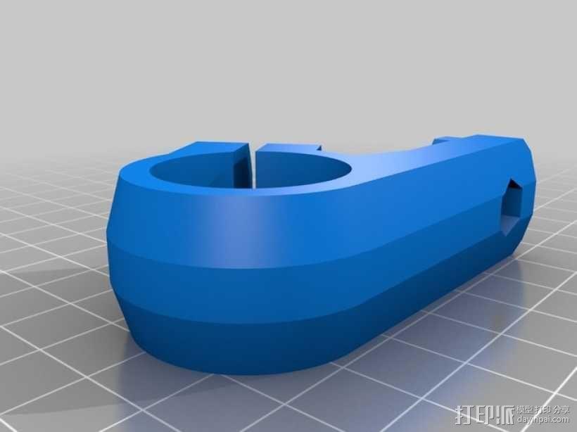 三脚架连接头 连接器 3D模型  图17