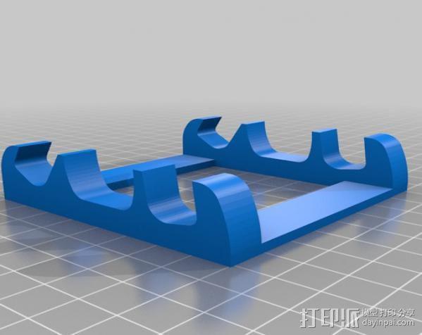 多角度手机支架 3D模型  图1