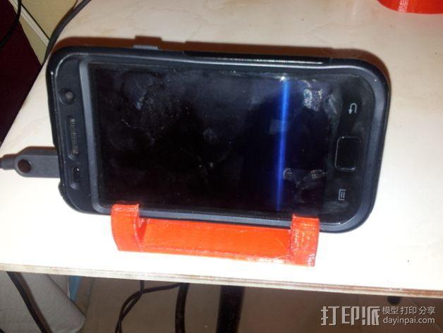 多角度手机支架 3D模型  图2