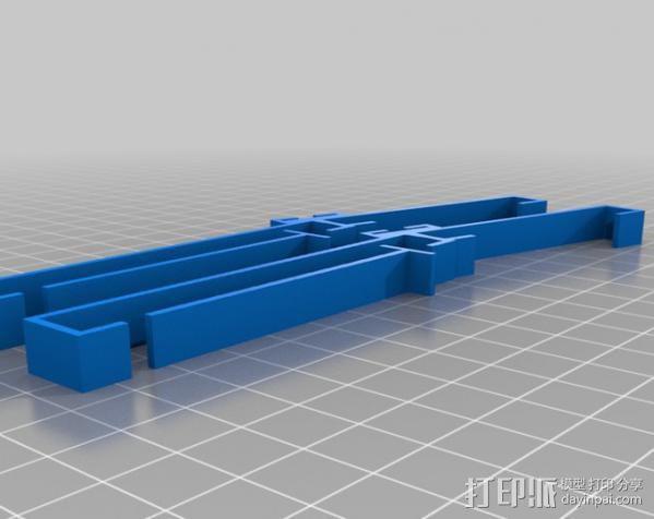 三星Galaxy Note手机支架 键盘支架 3D模型  图1
