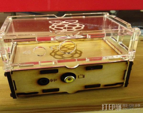 Stacking Pi外壳 3D模型  图4