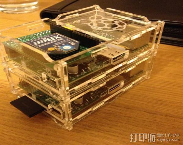 Stacking Pi外壳 3D模型  图8