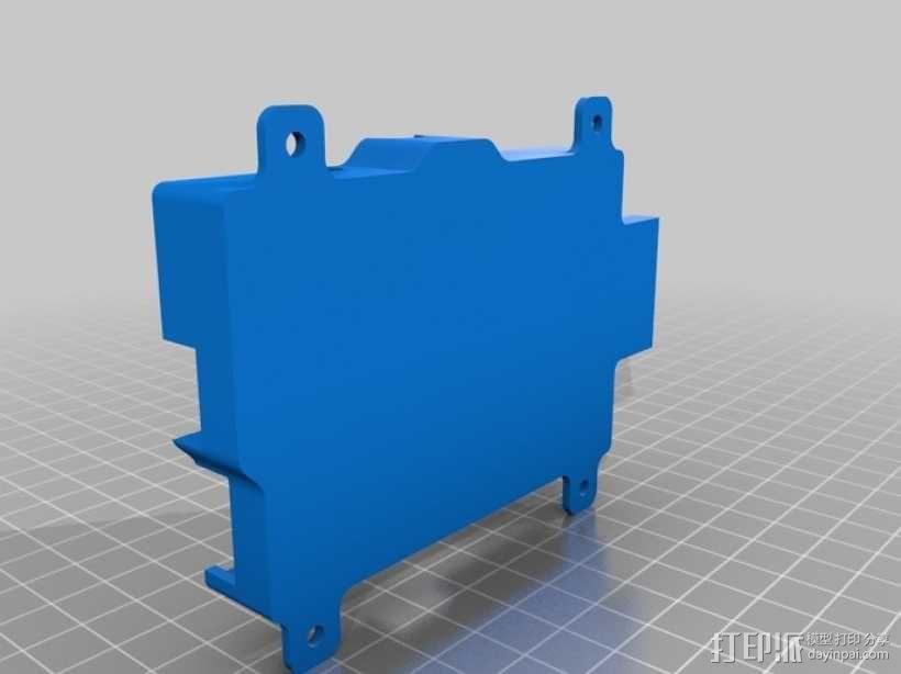 Raspberry Pi 树莓派保护外壳 3D模型  图4