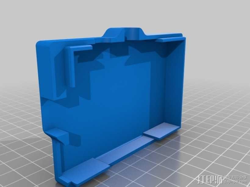 Raspberry Pi 树莓派保护外壳 3D模型  图5