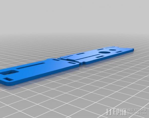 树莓派电路板保护盒  3D模型  图2