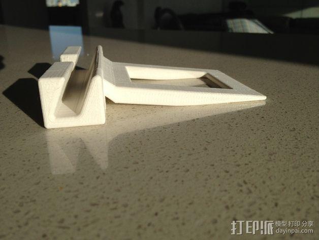 非常稳固的IPAD平板电脑支架 3D模型  图5
