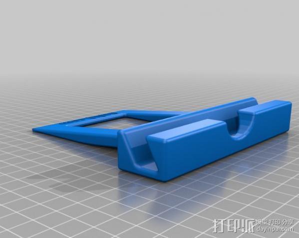 非常稳固的IPAD平板电脑支架 3D模型  图3
