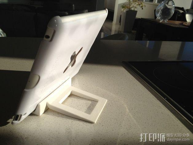 非常稳固的IPAD平板电脑支架 3D模型  图7