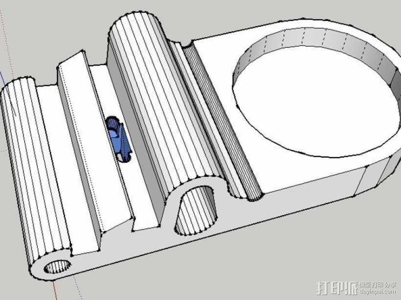 iPad支撑架 3D模型  图5