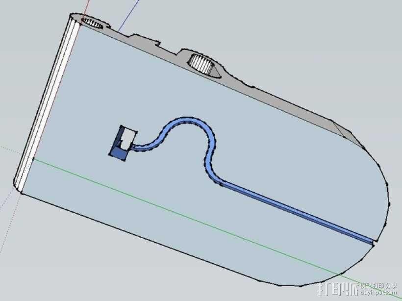 iPad支撑架 3D模型  图4