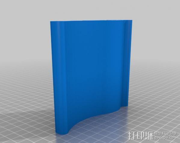 iPad 2, Samsung Galaxy平板电脑支撑架 3D模型  图10