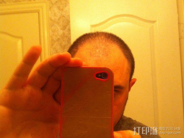 iPhone 4 手机保护外壳 3D模型  图3