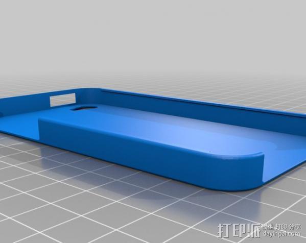 iPhone 4 手机保护外壳 3D模型  图1